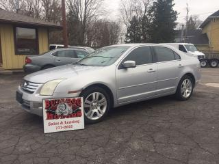 Used 2006 Ford Fusion SEL for sale in Glencoe, ON