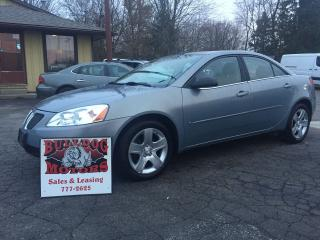 Used 2009 Pontiac G6 SE for sale in Glencoe, ON