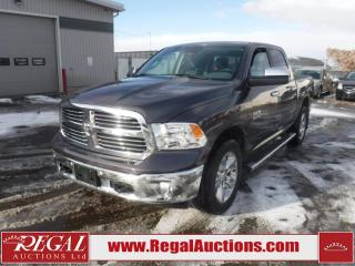 Used 2016 RAM 1500 BIG Horn Crew CAB SWB 4WD 3.0L for sale in Calgary, AB