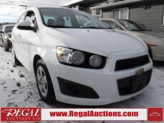 Used 2012 Chevrolet Sonic LT 4D Sedan for sale in Calgary, AB