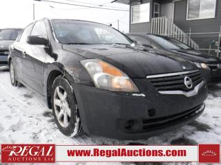 Used 2007 Nissan ALTIMA S 4D SEDAN 2.5 for sale in Calgary, AB