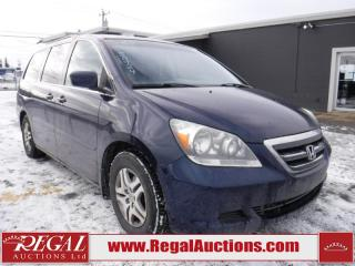 Used 2005 Honda Odyssey EX 4D Wagon for sale in Calgary, AB