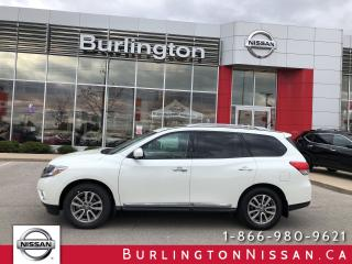 Used 2015 Nissan Pathfinder SL, PREMIUM TECH, ACCIDENT FREE ! for sale in Burlington, ON