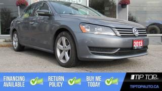 Used 2013 Volkswagen Passat Comfortline ** 36, 370Km, Leather, Nav, Sunroof ** for sale in Bowmanville, ON