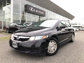 Used 2009 Honda Civic Coupe DX-G 5sp Local, NO Accidents, 1 Owner for sale in North Vancouver, BC