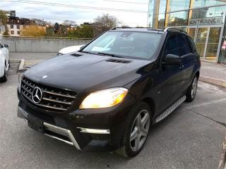 Used 2012 Mercedes-Benz ML 350 BlueTEC, AMG SPORT, NAVI, PANO, CAM for sale in Toronto, ON
