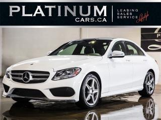 Used 2015 Mercedes-Benz C 300 4MATIC, NAVI, CAM, PANO, BLINDSPOT for sale in Toronto, ON