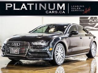 Used 2016 Audi A7 3.0T Quattro TECHNIK, S-LINE, NAVI, 360 CAM for sale in Toronto, ON