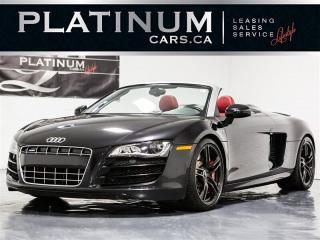 Used 2011 Audi R8 5.2 Quattro Spyder V10, NAVI, CAM, LOW KM for sale in Toronto, ON