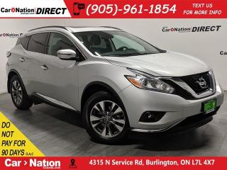 Used 2017 Nissan Murano SV| AWD| PANO ROOF| NAVI| BACK UP CAM| for sale in Burlington, ON