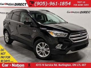 Used 2017 Ford Escape SE| 4X4| BACK UP CAMERA & SENSORS| for sale in Burlington, ON