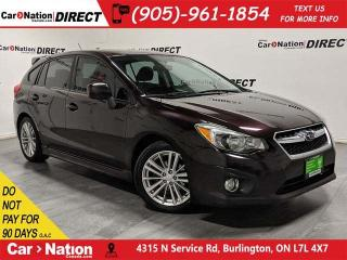 Used 2012 Subaru Impreza 2.0i| LOCAL TRADE| AWD| SUNROOF| for sale in Burlington, ON