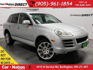 Used 2008 Porsche Cayenne | AWD| AS-IS| LOCAL TRADE| LEATHER| SUNROOF| for sale in Burlington, ON