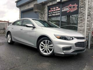 Used 2018 Chevrolet Malibu Berline 4 portes LT avec 1LT for sale in Longueuil, QC