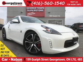 Used 2019 Nissan 370Z Sport | BOSE STEREO | LIMITED SLIP | CAMERA | for sale in Georgetown, ON