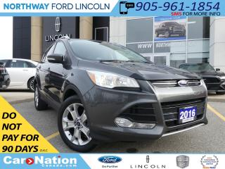 Used 2016 Ford Escape Titanium | NAV | REAR CAM | LEATHER | PANO ROOF | for sale in Brantford, ON
