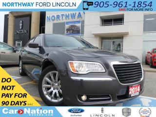 Used 2014 Chrysler 300 Touring | HEATED LEATHER | REAR CAM | 3.6L V6 | for sale in Brantford, ON