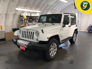 Used 2015 Jeep Wrangler Sahara * 4x4 * 6.5-inch touchscreen GPS Navigation * Black Sunrider Soft Top Sunrider Soft Top * Black Jeep Freedom Top hardtop * Alpine Premium Audio for sale in Cambridge, ON