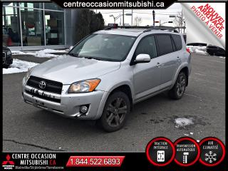 Used 2010 Toyota RAV4 SPORT AWD 4 CYL. A/C GR ELECTRIQUE for sale in St-Jérôme, QC