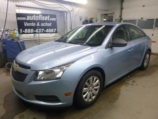 Used 2011 Chevrolet Cruze LS for sale in St-Raymond, QC