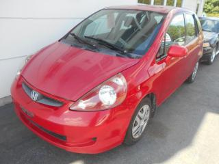 Used 2007 Honda Fit Hayon 5 portes, boîte manuelle, DX for sale in Sorel-Tracy, QC