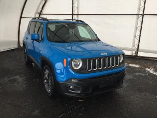 Used 2015 Jeep Renegade North RENEGADE LATITUDE 4X2, SKY DUAL PANE REMOVABLE TOPS, REVERSE CAMERA, POWER SEAT, REMOTE STARTER, BLU for sale in Ottawa, ON