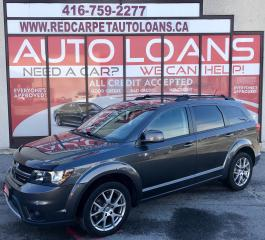 Used 2014 Dodge Journey R/T Rallye R/T-ALL CREDIT ACCEPTED for sale in Scarborough, ON