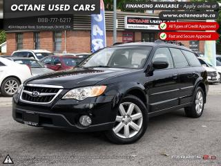 Used 2008 Subaru Outback 2.5 i Limited Package ONTARIO VEHICLE! MINT CONDITION! for sale in Scarborough, ON