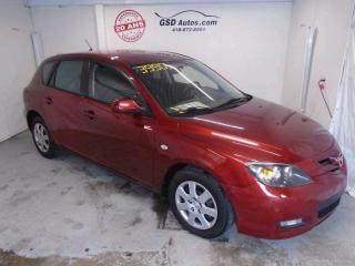 Used 2008 Mazda MAZDA3 Sport GX for sale in Ancienne Lorette, QC