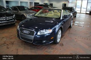 Used 2008 Audi A4 3.2 Cabriolet for sale in Québec, QC