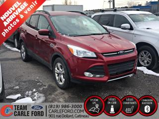 Used 2016 Ford Escape Ford Escape SE 2016 AWD, cuir, GPS, blue for sale in Gatineau, QC