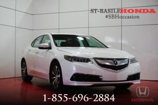 Used 2015 Acura TLX TECH PACK + TOIT + CUIR MILANO + WOW !!! for sale in St-Basile-le-Grand, QC