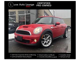 Used 2011 MINI Cooper S - BALANCE OF EXTENDED WARRANTY! for sale in Orleans, ON