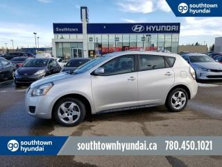 Used 2009 Pontiac Vibe AC/POWER OPTIONS/FULLY INSPECTED for sale in Edmonton, AB