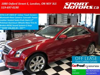 Used 2014 Cadillac ATS ATS4 2.0L AWD+Camera+Heated Seats+New Tires+Brakes for sale in London, ON