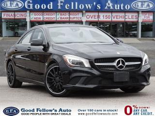 Used 2014 Mercedes-Benz CLA-Class LEATHER SEATS, NAVIGATION, REARVIEW CAMERA,PANROOF for sale in Toronto, ON
