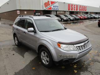 Used 2012 Subaru Forester X~HEATED SEATS~BLUETOOTH~CERTIFIED for sale in Toronto, ON
