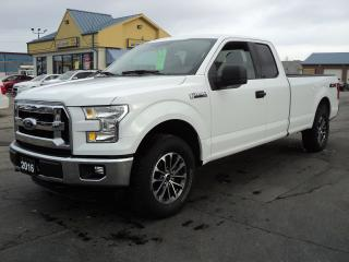 Used 2016 Ford F-150 XLT SuperCab 4X4 5.0L 8ftBox for sale in Brantford, ON