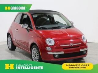 Used 2012 Fiat 500 LOUNGE CUIR AC GR for sale in St-Léonard, QC