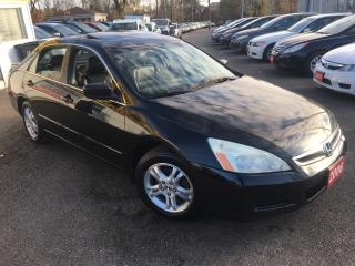 Used 2006 Honda Accord EX-L/ AUTO/ LEATHER/ SUNROOF/ ALLOYS! for sale in Scarborough, ON