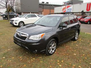 Used 2016 Subaru Forester i Limited~NAVI.~LEATHER~SUNROOF~ for sale in Toronto, ON
