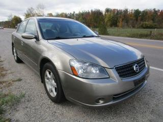 Used 2005 Nissan Altima 2.5 S for sale in Cookstown, ON