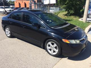 Used 2007 Honda Civic EX,AUTO,189KM,SAFETY+3 YEARS WARRANTY INCLUDED for sale in Toronto, ON