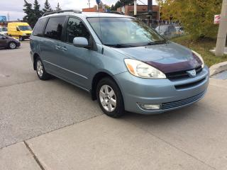 Used 2005 Toyota Sienna LE,LEATHER,215KM,SAFETY+3YEARS WARRANTY INCLUDED for sale in Toronto, ON