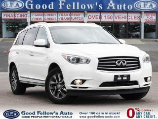 Used 2015 Infiniti QX60 7 PASSENGER, LEATHER SEATS, SUNROOF, NAVI, AWD for sale in Toronto, ON