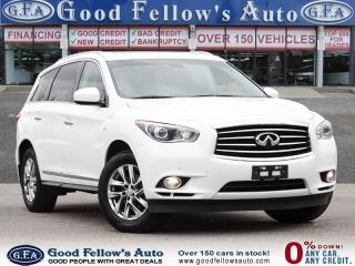 Used 2014 Infiniti QX60 7 PASSENGER, LEATHER SEATS, SUNROOF, NAVI, AWD for sale in Toronto, ON