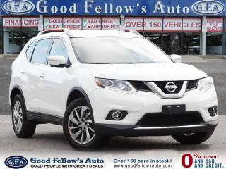 Used 2014 Nissan Rogue SL MODEL, LEATHER SEATS, PANORAMIC ROOF, NAVI, AWD for sale in Toronto, ON