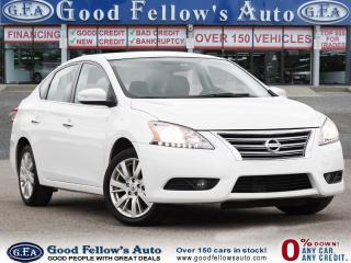 Used 2015 Nissan Sentra SL MODEL, LEATHER SEATS, SUNROOF, NAVIGATION for sale in Toronto, ON