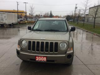 Used 2008 Jeep Patriot Low km, 4x4, 4 door, Automatic, all power options, for sale in Toronto, ON