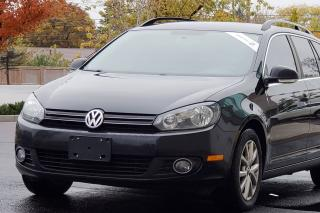 Used 2013 Volkswagen Golf Wagon Comfortline CERTIFIED TDI DIESEL for sale in Mississauga, ON